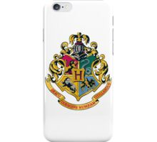 Hogwarts crest  iPhone Case/Skin