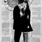 a little bird, a little moon and a little love by Loui  Jover