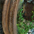 The Old Railway Wheel by photograham