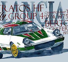 Rally Group B-Lancia Stratos by dareba