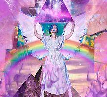 Lisa Frank <3s Jesus  by Mirabelle Jones