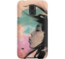 Psychedelic Blow Japanese Girl Samsung Galaxy Case/Skin