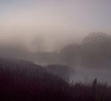 Misty sunrise by jdavey57