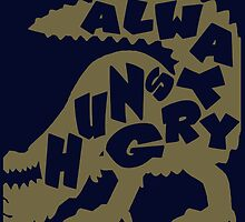 monster hunter deviljo always hungry shirt by Trish08