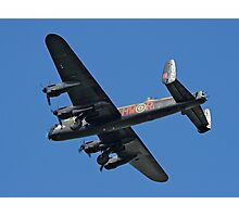 Avro Lancaster B.1 PA474 HW-R Photographic Print