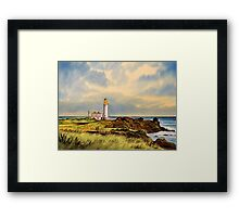 Turnberry Golf Course 9th Tee Framed Print