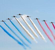 Red Arrows - Big Battle Arrival by © Steve H Clark