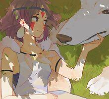 Princess Mononoke by ChloeJade