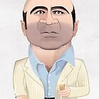 Bob Hoskins by drawgood