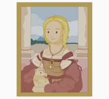 Lady with unicorn by Raphael Kids Clothes