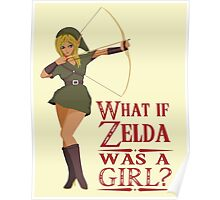What if Zelda was a girl? (it's a joke) Poster