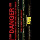 EMERGENCY DESTRUCTION SYSTEM - iPhone Case by bluedog725