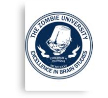 Zombie University Canvas Print