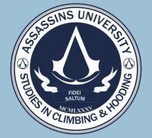 Assassins University - Climbing & Hooding Kids Clothes