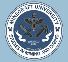 Minecraft University - Mining & Cubing Kids Clothes