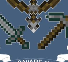 Minecraft University - Mining & Cubing Sticker