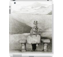 waiting in the desert iPad Case/Skin