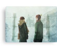 Ron & Hermione Metal Print