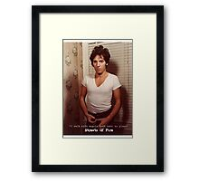 Streets Of Fire prt.II Framed Print