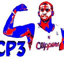 CP3 Stencil Design by nbatextile