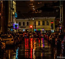 Night time in Moscow by elkhan