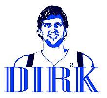 DIRK Stencil Design by nbatextile