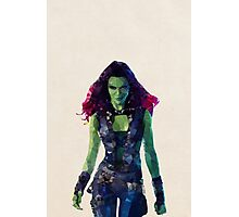 Gamora from Guardians of the Galaxy Photographic Print