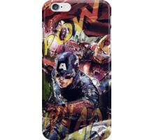 The Avengers Strike Back! iPhone Case/Skin