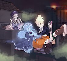 Ghouls Will Be Ghouls by kaitquefait