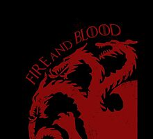 """""""Fire and Blood"""" - House Targaryen by xipher"""