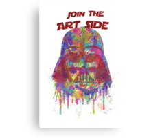 Join the Art Side Canvas Print