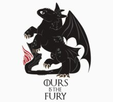 Ours is the night fury Kids Clothes