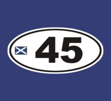 45 BUMPER STICKER by JamesChetwald