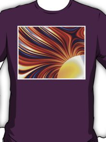 Color & Form Abstract - Solar Gravity and Magnetism 1 T-Shirt