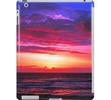 SUNSET CALIFORNIA COAST iPad Case/Skin