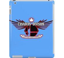 Super Smash Bros. Canadian Division iPad Case/Skin