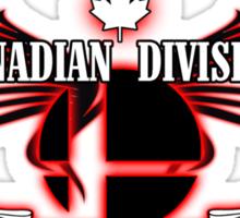 Super Smash Bros. Canadian Division Sticker