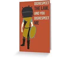 Skyrim whiterun guard Greeting Card