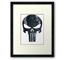 Punisher (camo) Framed Print