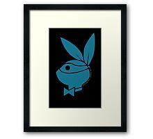 Playboy Turtle: Leonardo Framed Print