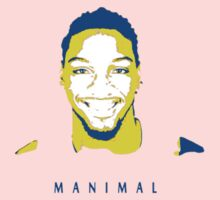 Manimal Stencil Design Kids Clothes