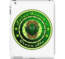 Saint Izaak's Green Ale iPad Case/Skin