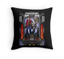 Friends in Time - Part I Throw Pillow