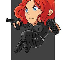 Black Widow by gunyuloid