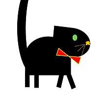 The Big Black Cat by janbrickman