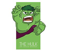 The Hulk Photographic Print