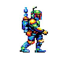 8-bit Boba Fett Phone Case by viox