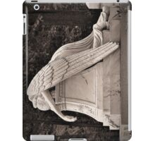 Weeping Angel - sepia iPad Case/Skin