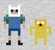 8 Bit Adventure Time by mitchandcozy