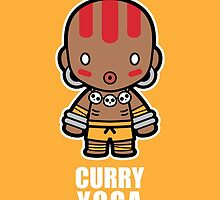 Curry Yoga Love by JolleyRoger